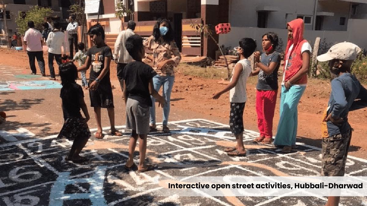 Interactive open street activites