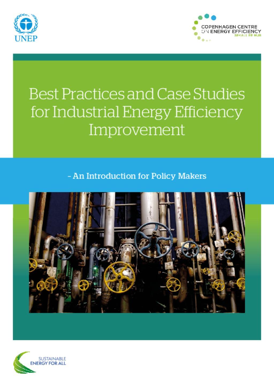 INdustries and Energy Efficiency