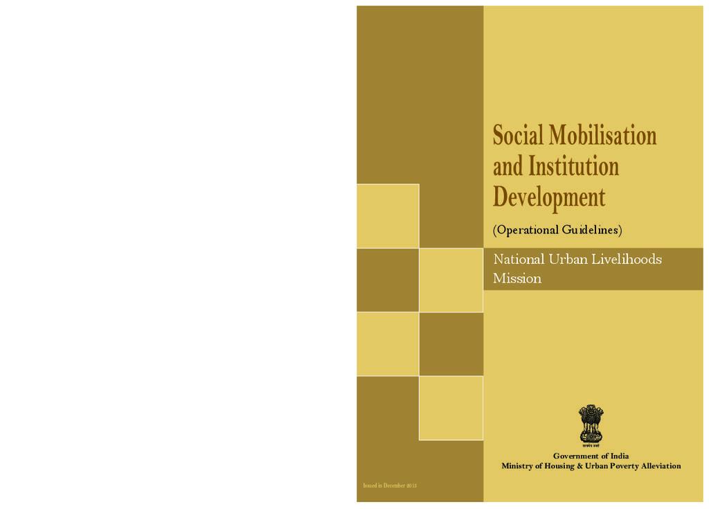 Social Mobilisation: NULM