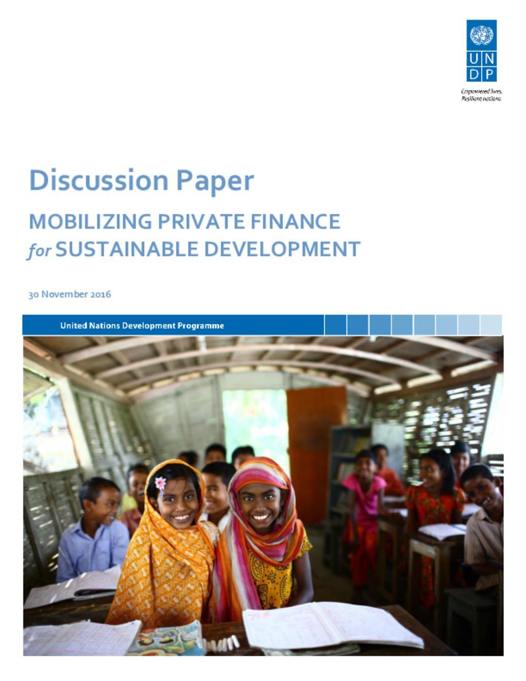 Financing SDG