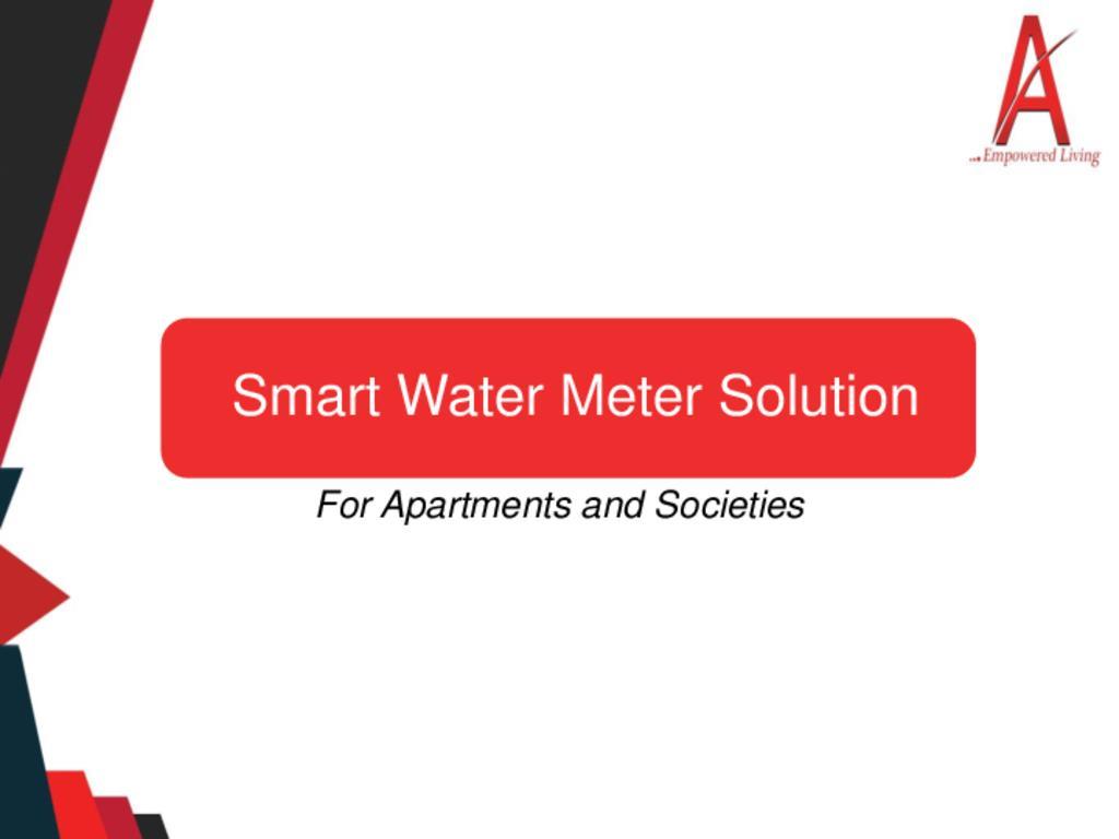 Smart Water Meter Solution