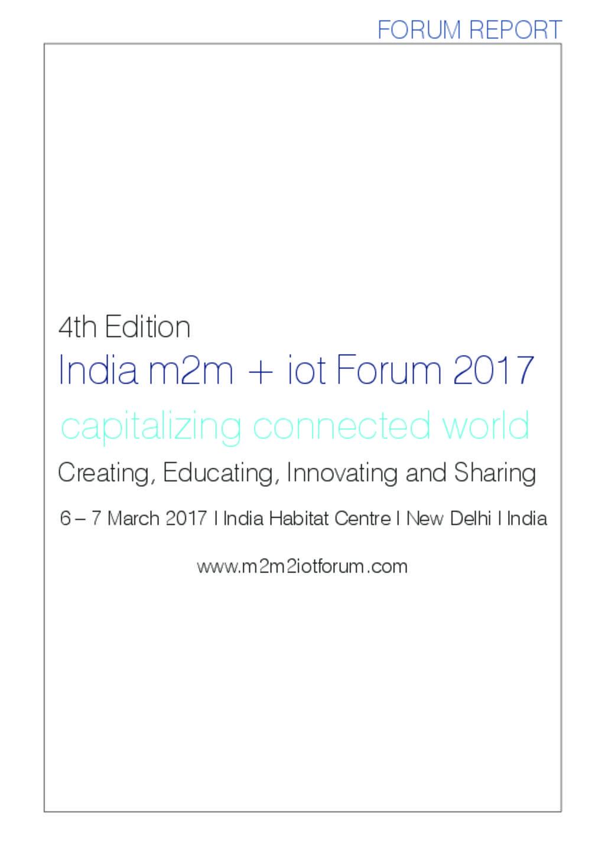 Forum 2017 Report