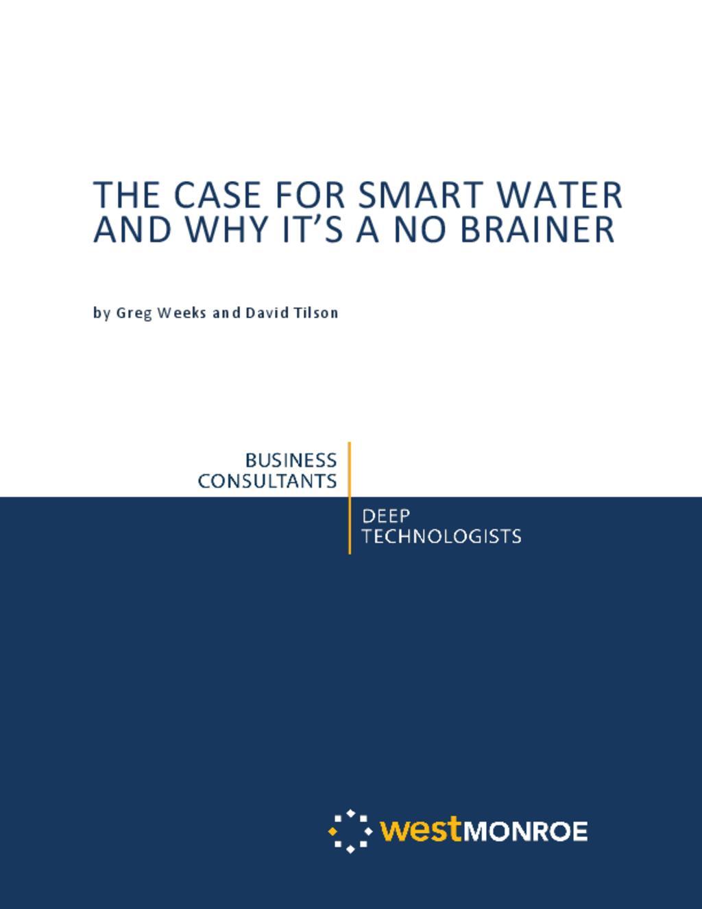 Smart water_west Monroe