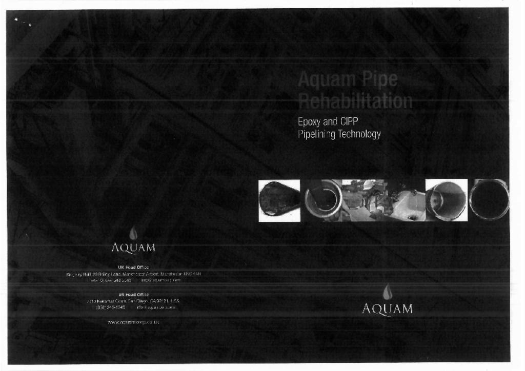 AQUAM pipe rehab
