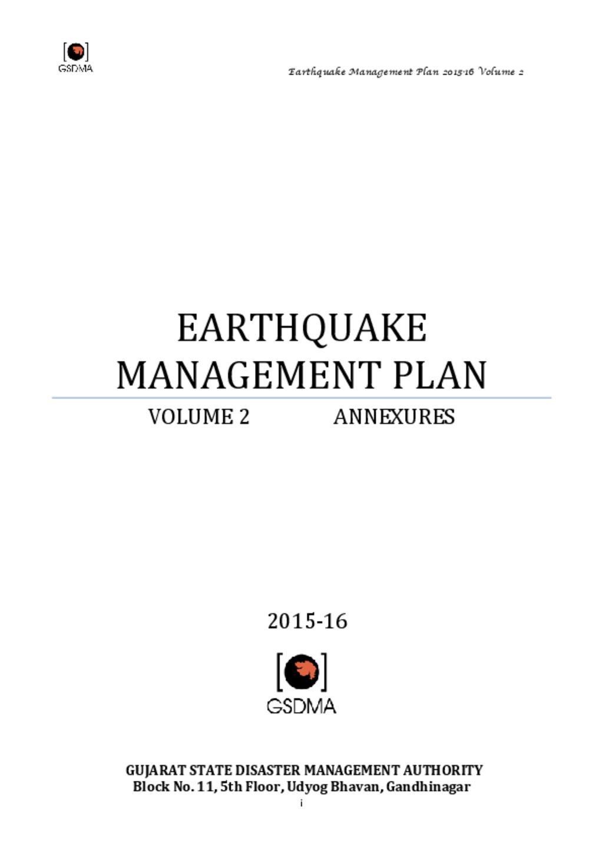 Gujarat _ earthquake action Plan2