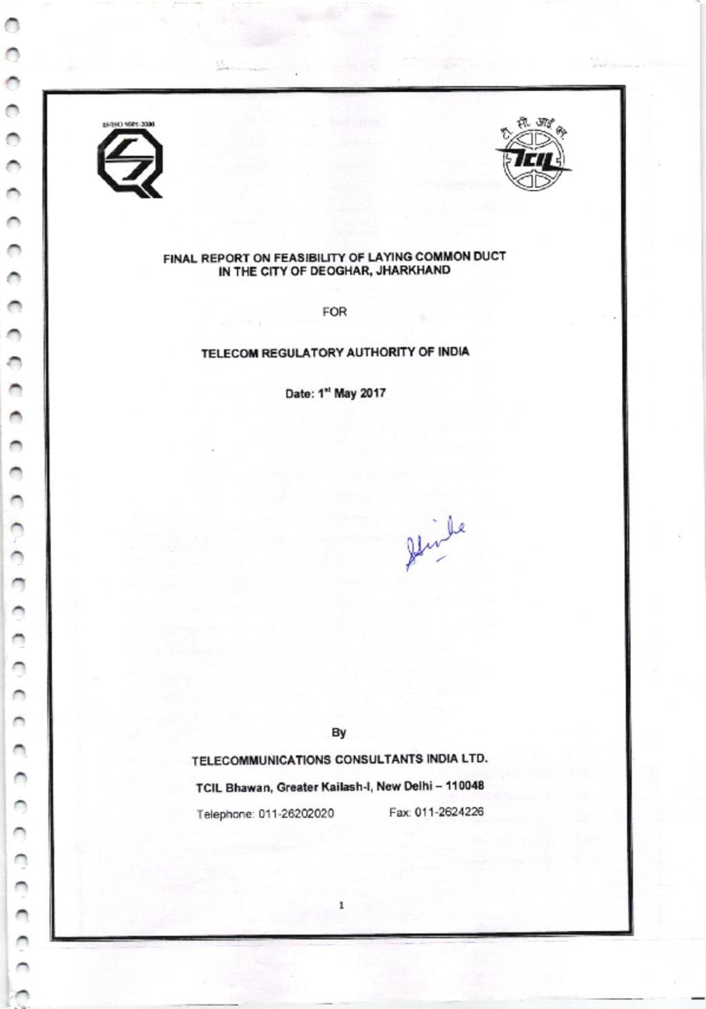 TRAI Report
