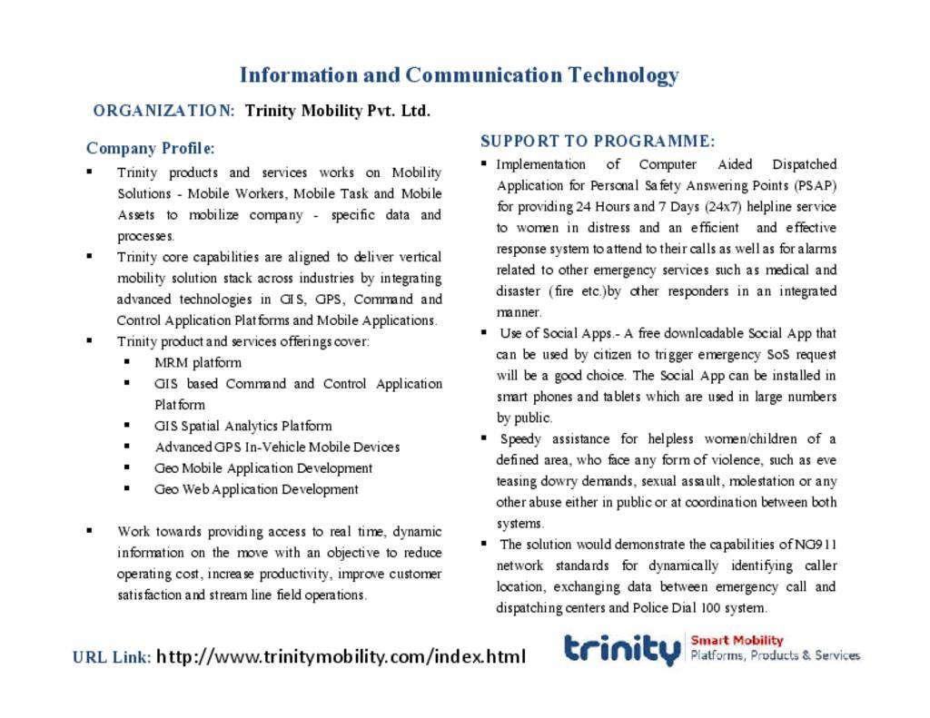 Trinity Mobility