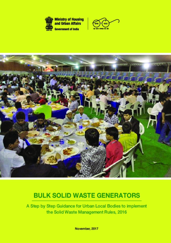 Bulk waste generator