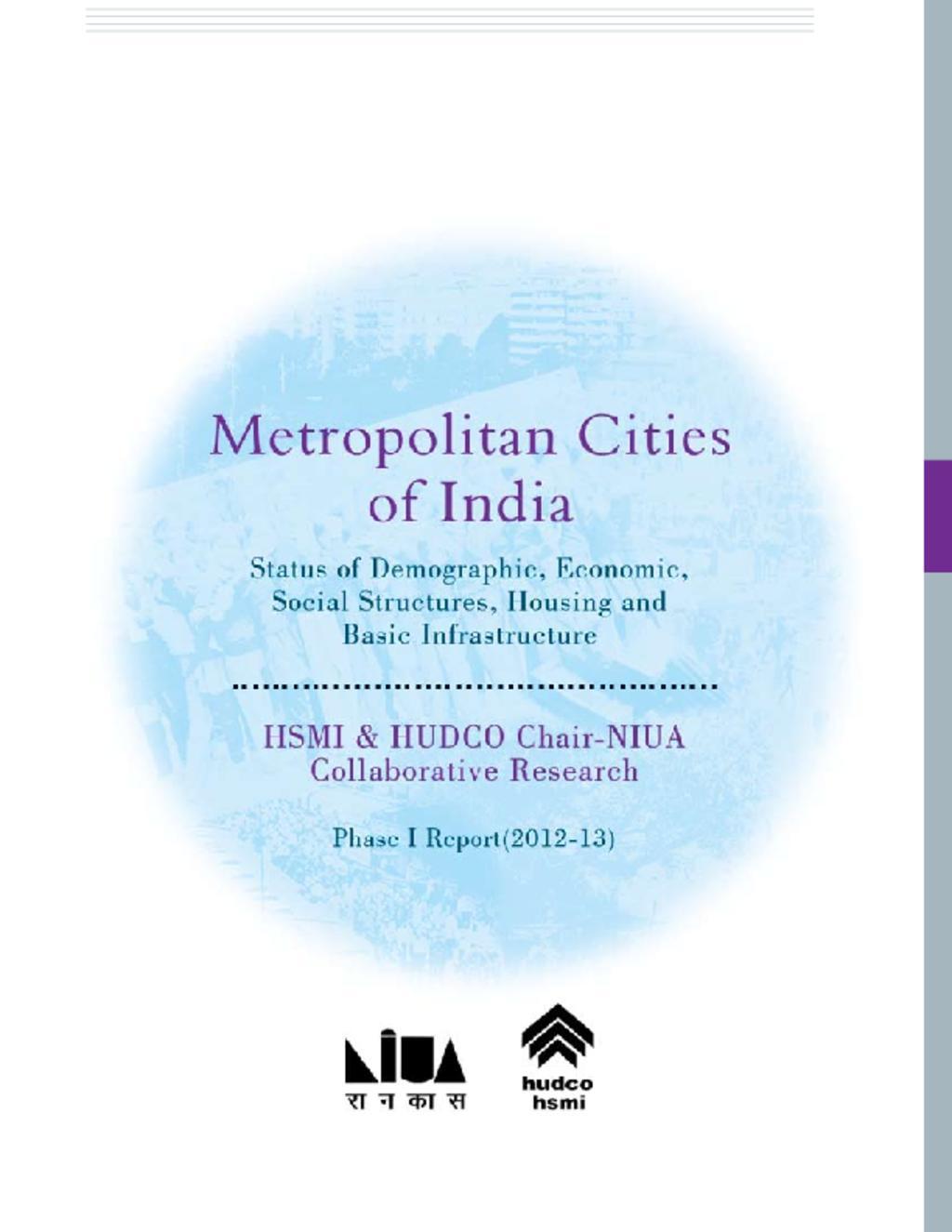 NIUA-HUDCO Study 2014