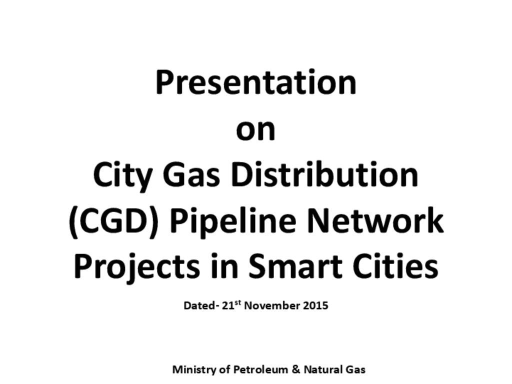 Presentation on CGD