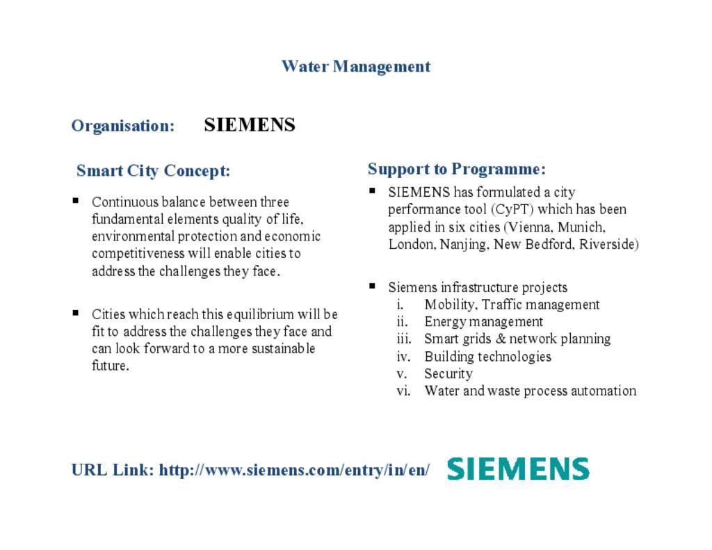 Siemens - Water