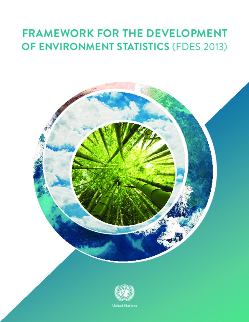 Framework for Development of Environment statistics1