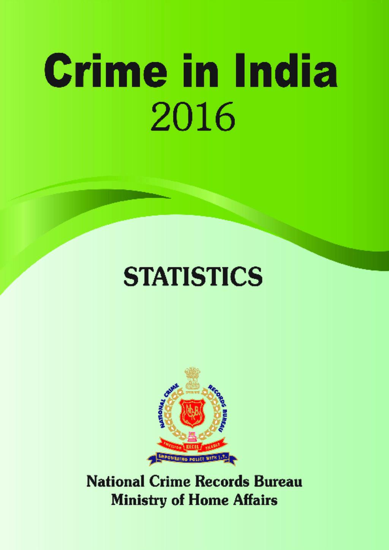 Crime stats India