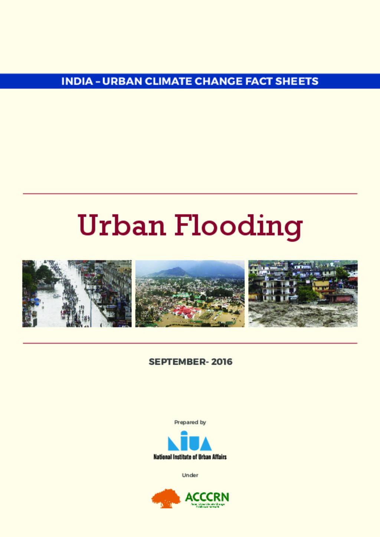 ACCCRN factsheet_ Urban Flooding