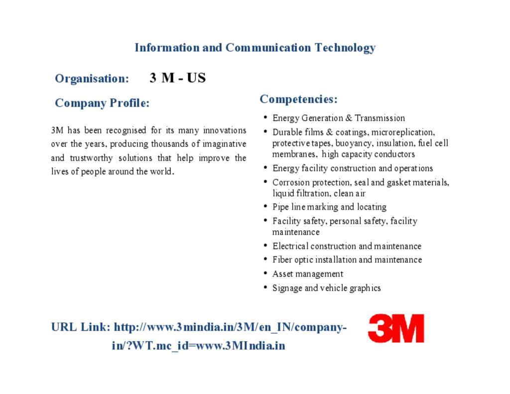 3M - ICT