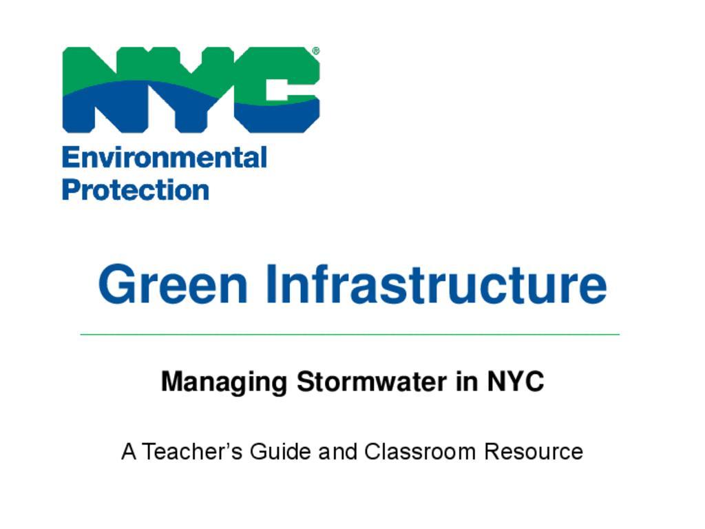 Environment NYC presentation