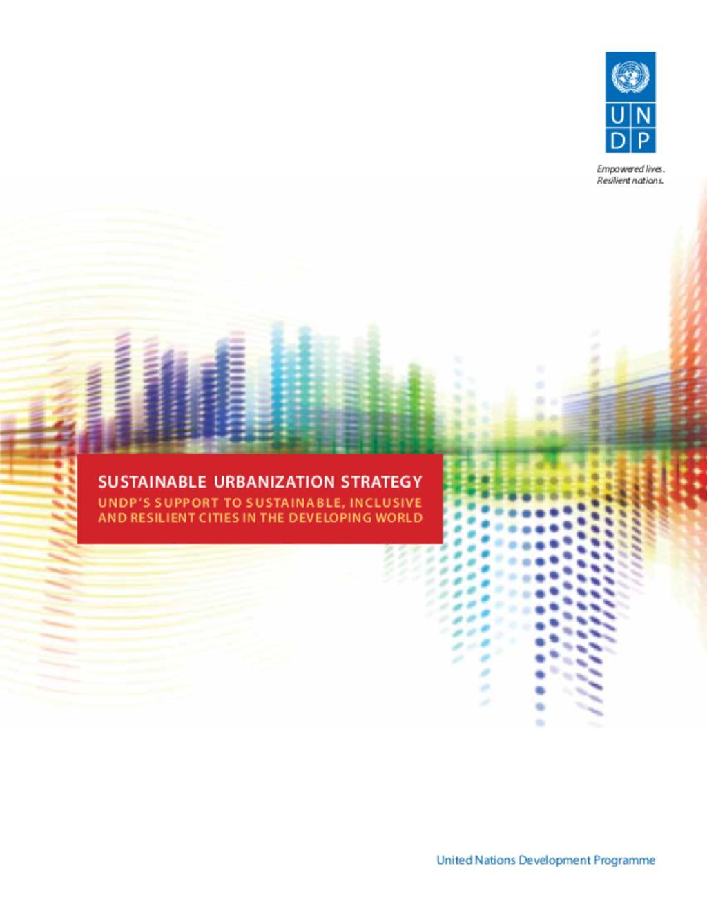 UNDP urban Strategy