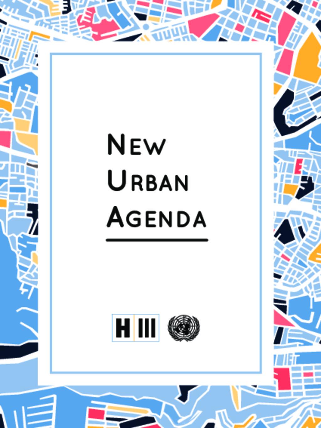 New Urban Agenda2016