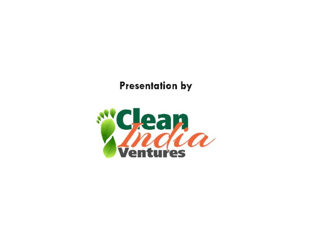 Clean India Ventures