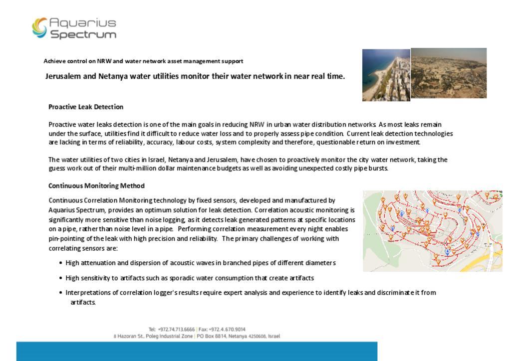 Control on NRW