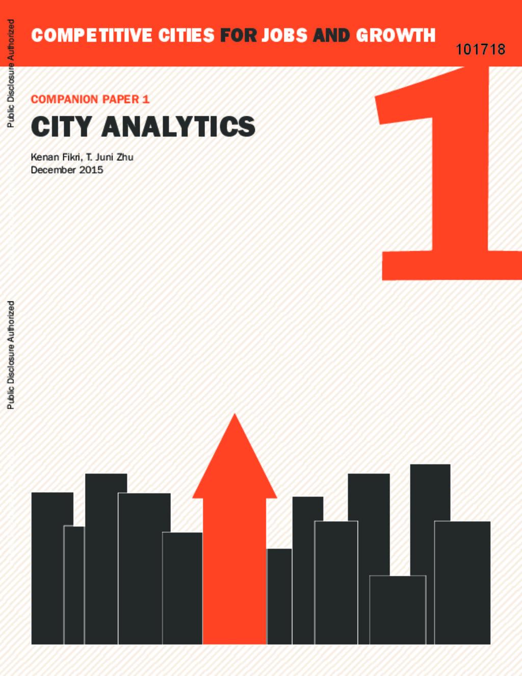 City analystics