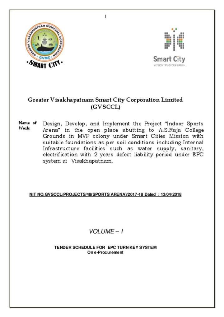 Area Development Vizag