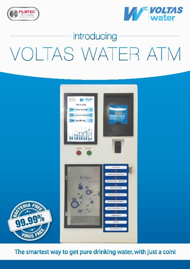 voltas water atms