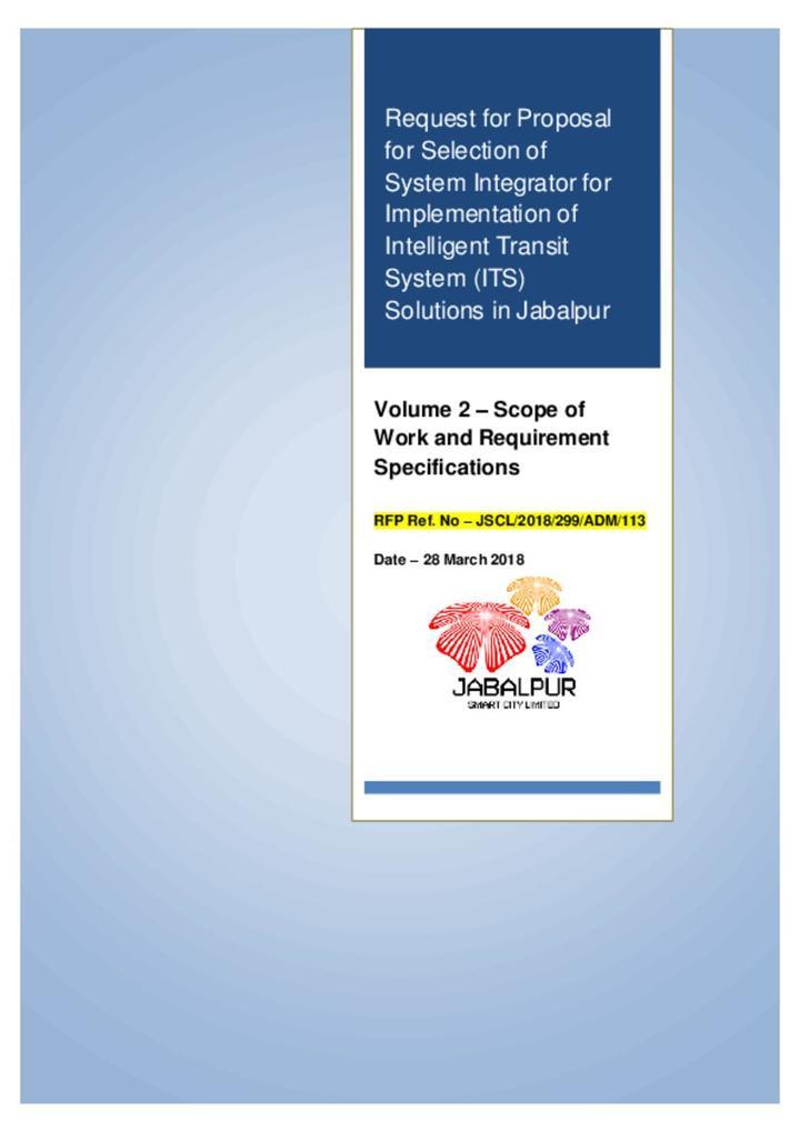 Jabalpur System Integrator Volume 2