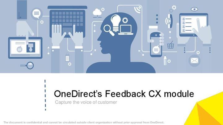 Onedirect feedback