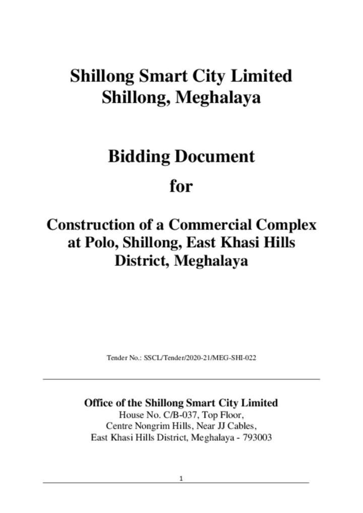 Bidding Document