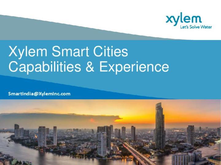 Xylem Smart Cities Solutions
