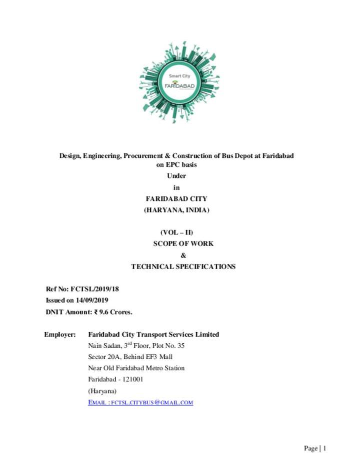 RFP document Volume 2