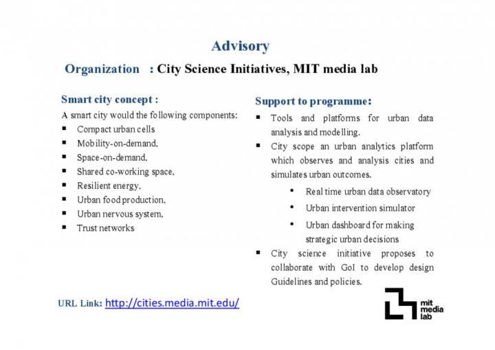 City Science Initiatives, MIT Media Lab