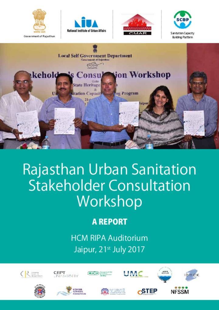 Sanitation workshop Proceedings