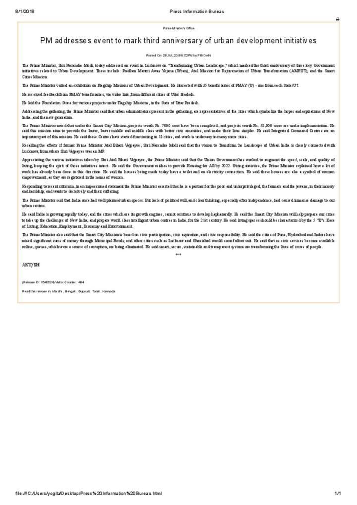 PIB_News Release