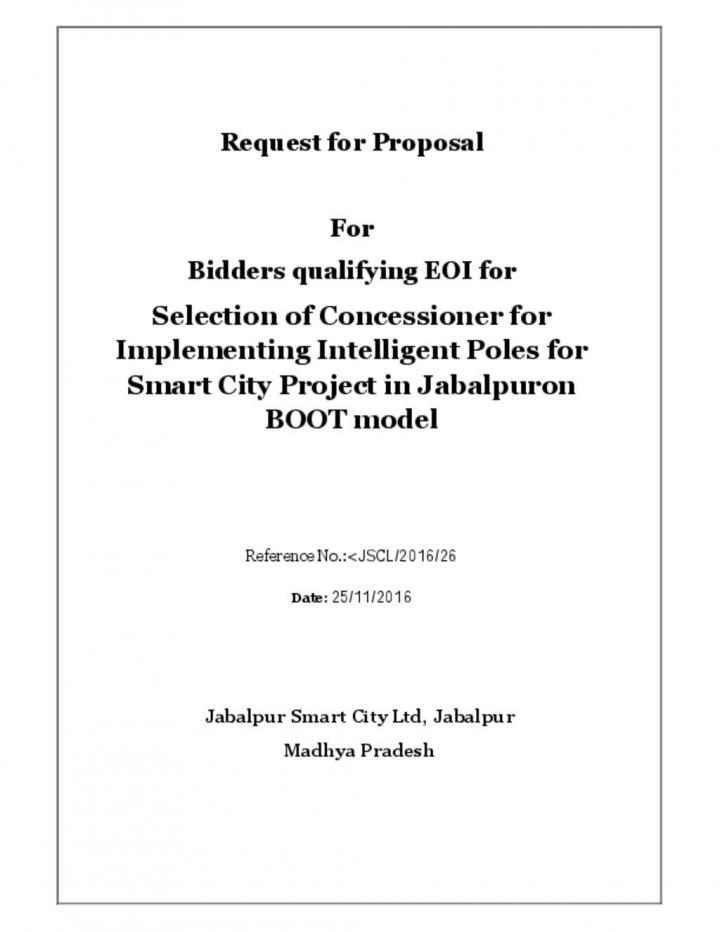 RFP_Smart pole