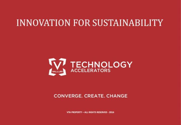 Valluri Technology Accelerators