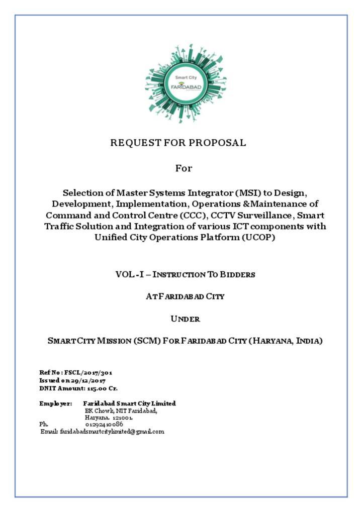 RFP System Integrator