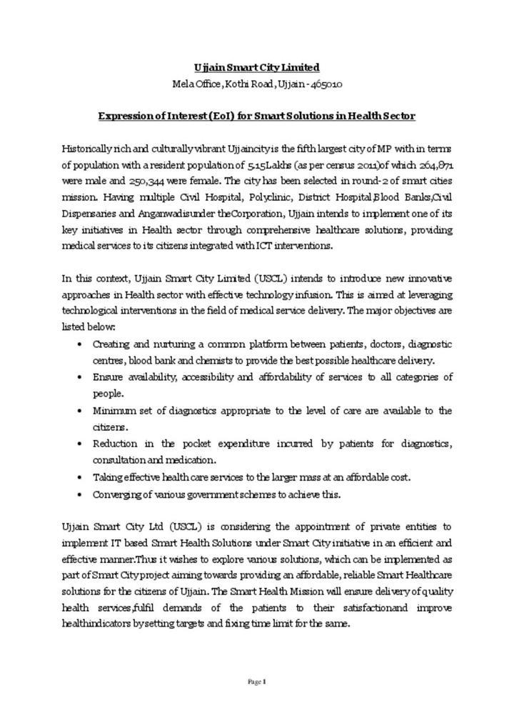 Smart Health Ujjain