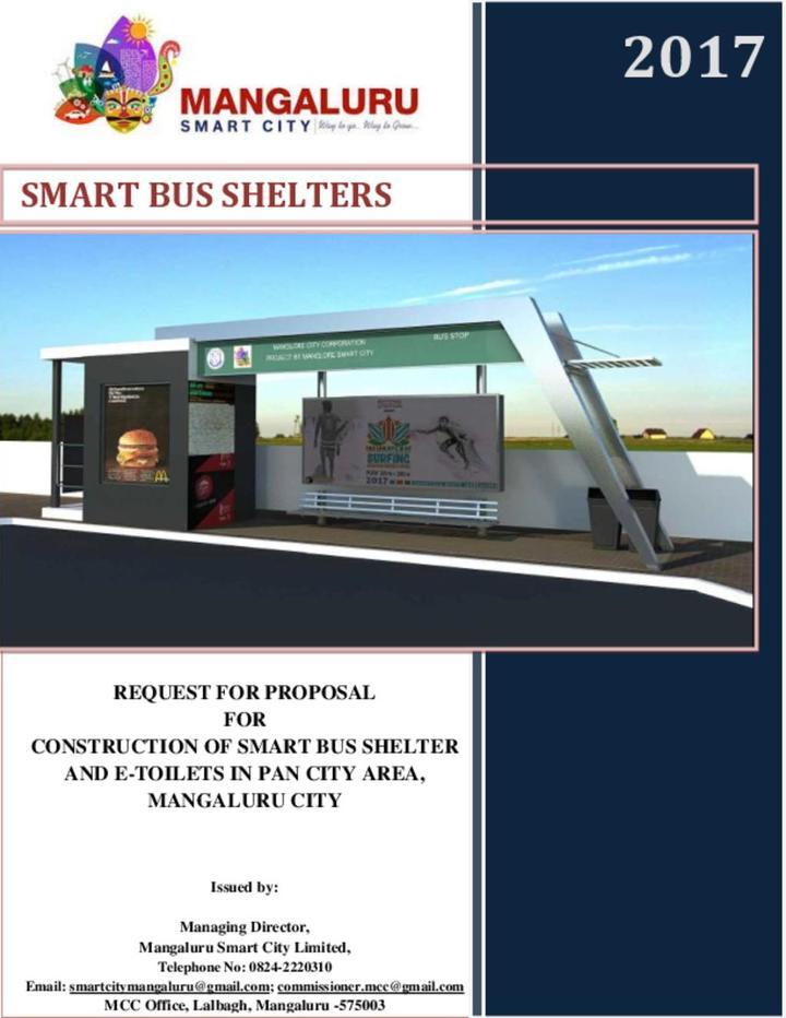 Mangalore Bus Shelter, E-toilet