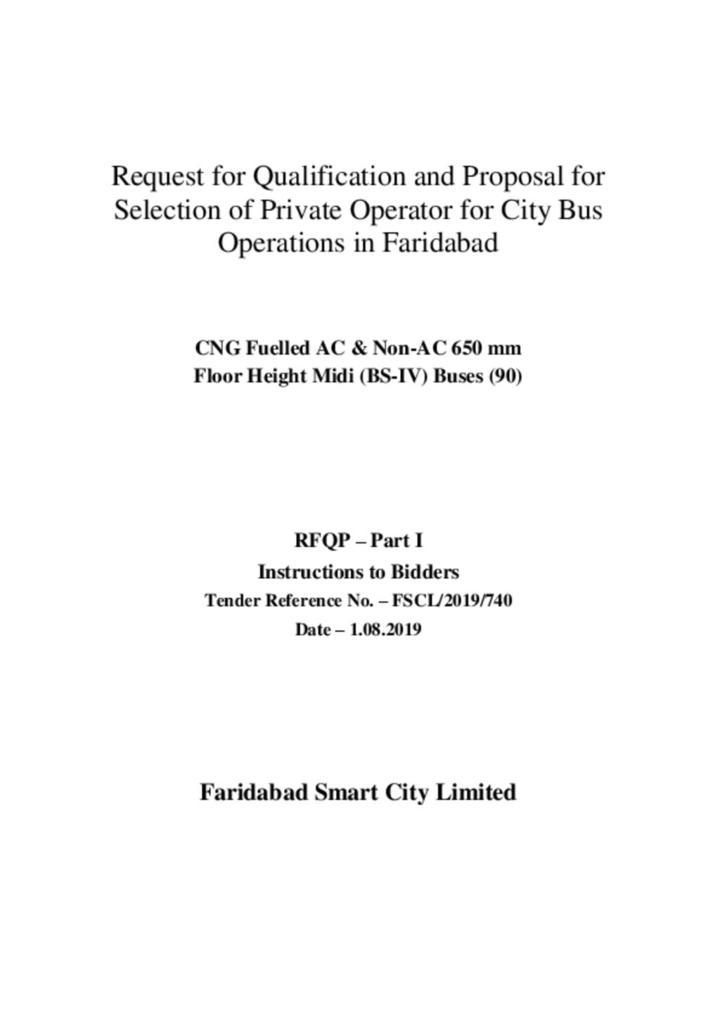 RFQP document part 1