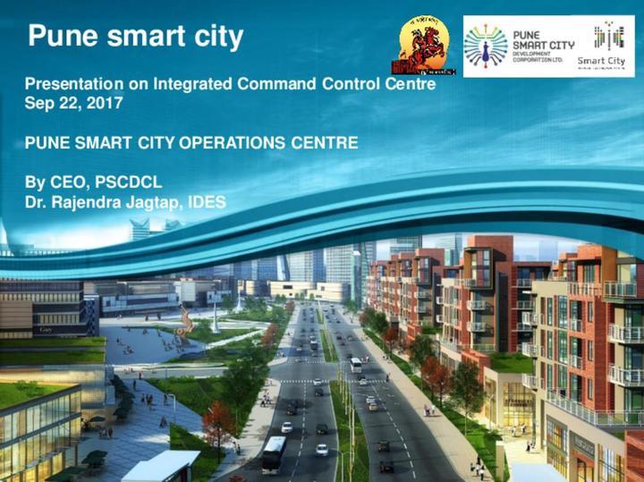 Pune Smart City Operations Centre Presentation