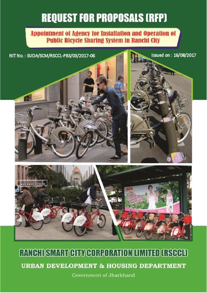 RFP - Bike Sharing System Ranchi