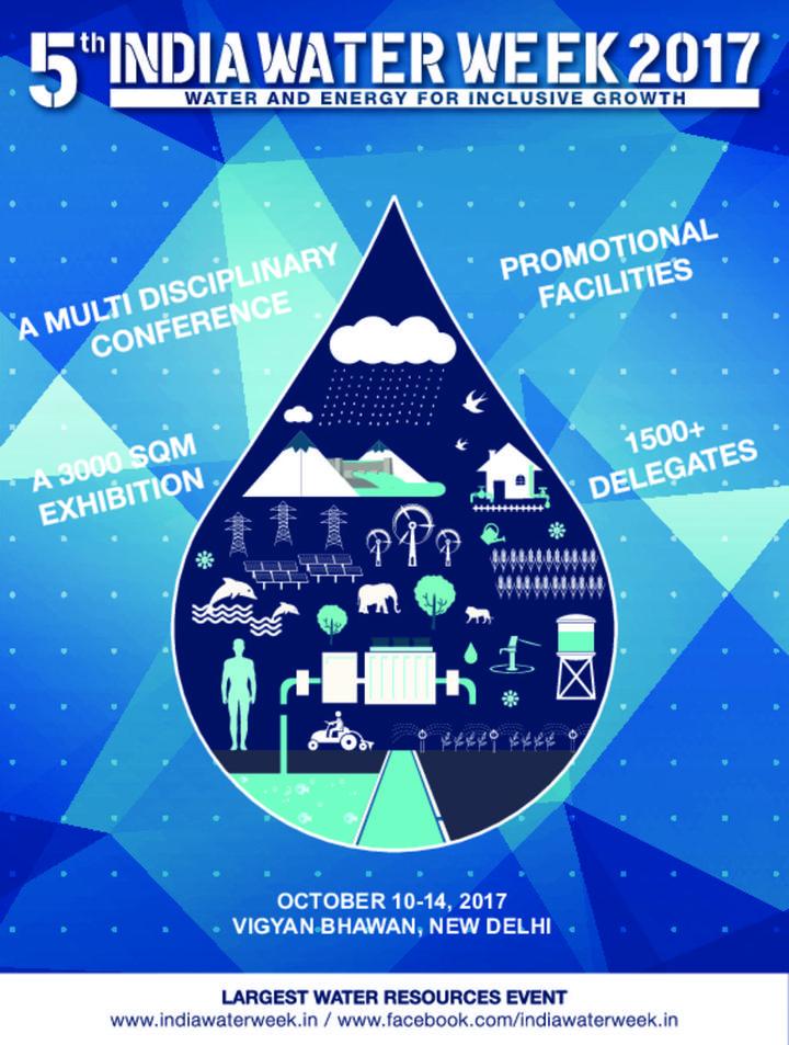 5th India Water Week 2017
