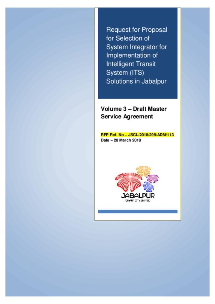 Jabalpur System Integrator Volume 3
