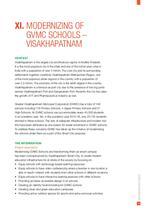 Modernizing Of GVMC Schools – Visakhapatnam