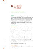E-Toilets – Solapur